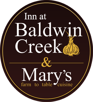 Inn at Baldwin Creek, Mary's Restaurant