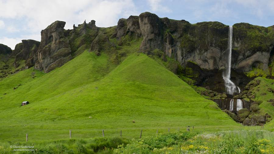 """Middle Earth"" in southeastern Iceland"