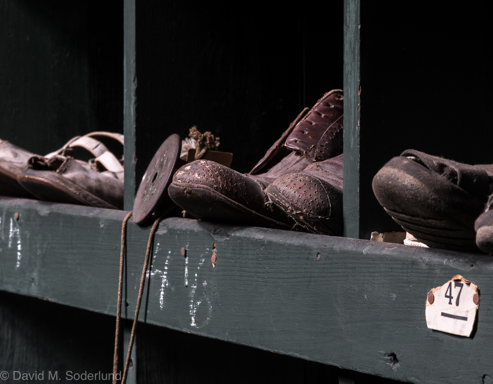Forgotten shoes.   Nikon D750, Nikkor 85mm f/1.8, ISO 400, f/16