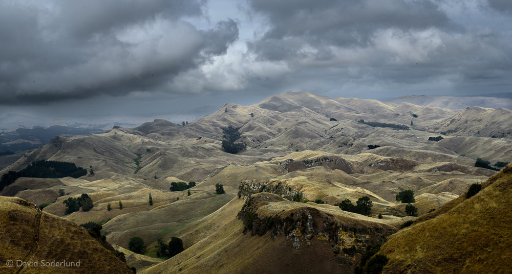 The view from Te Mata Peak.