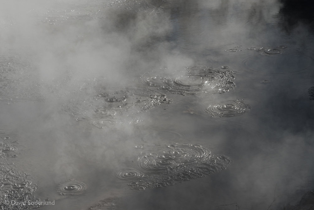 A mud cauldron at the Wai-O-Tapu geothermal area, New Zealand