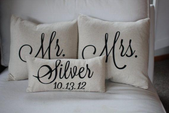 Mr. Mrs. Pillows