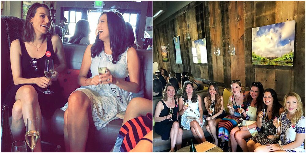 santa barbara wine tasting bachelorette party