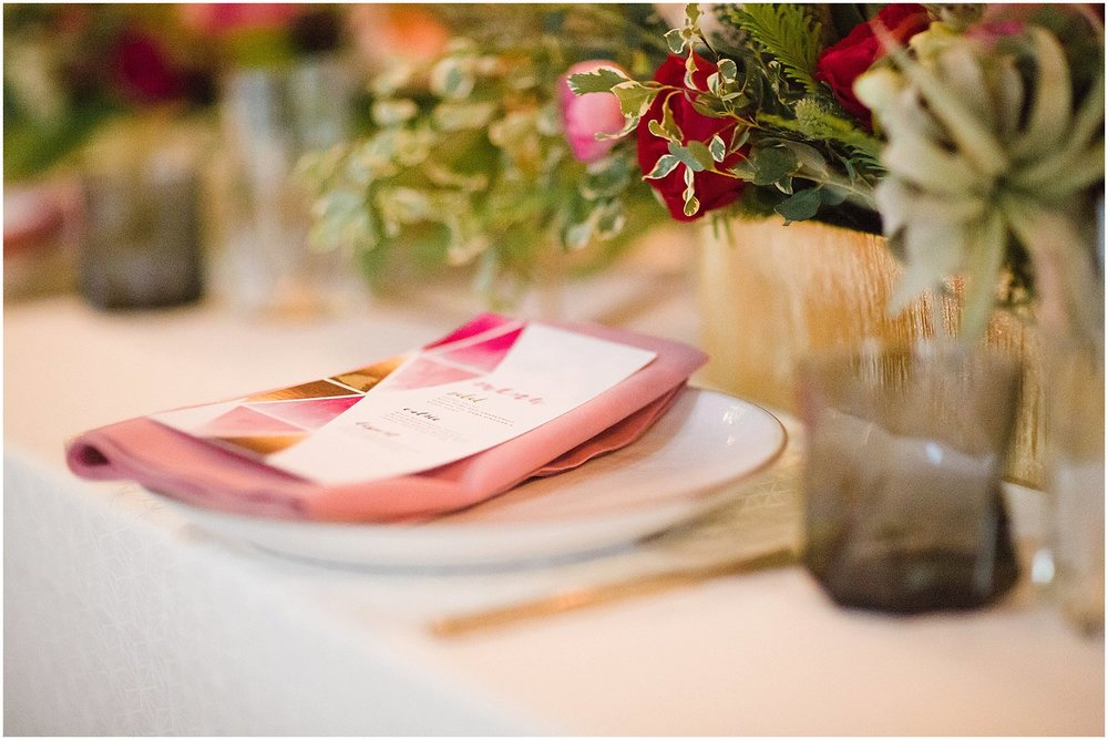 Modern Pink Wedding Inspiration | Phoenix Wedding Planner | Megan Dileen Events