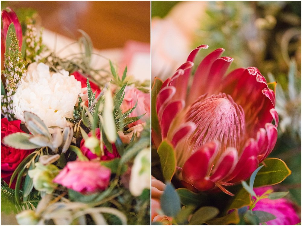 Protea & Peony Centerpiece | Scottsdale Wedding Planner | Megan Dileen Events