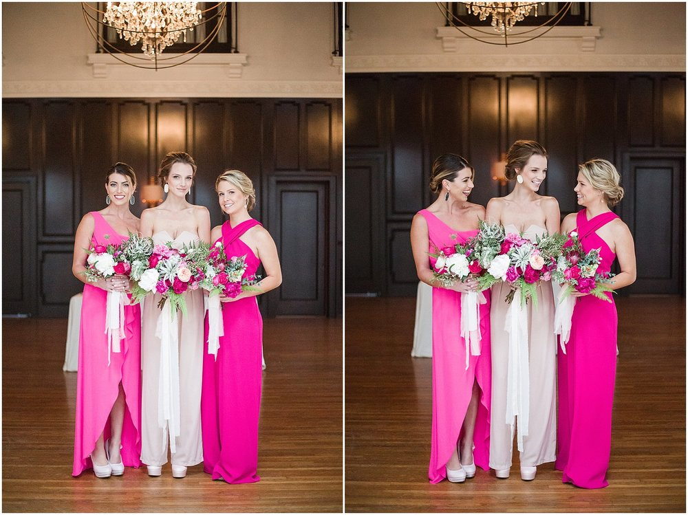 Blush & Pink Jumpsuits for Bride & Bridesmaids | Phoenix Wedding Planner | Megan Dileen Events