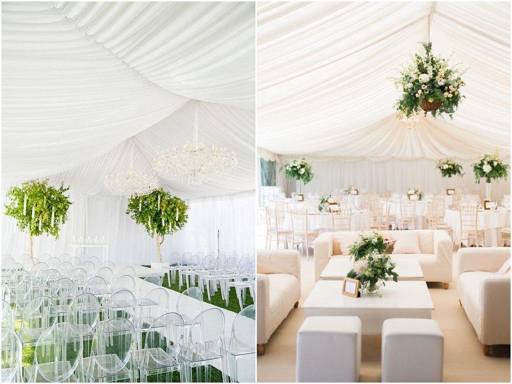 Glamorous Wedding Tent