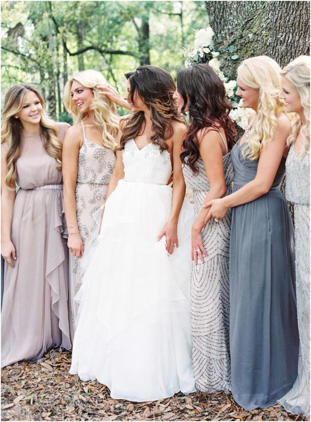 How to mix match bridesmaids megan dileen events lauren peele ombrellifo Image collections