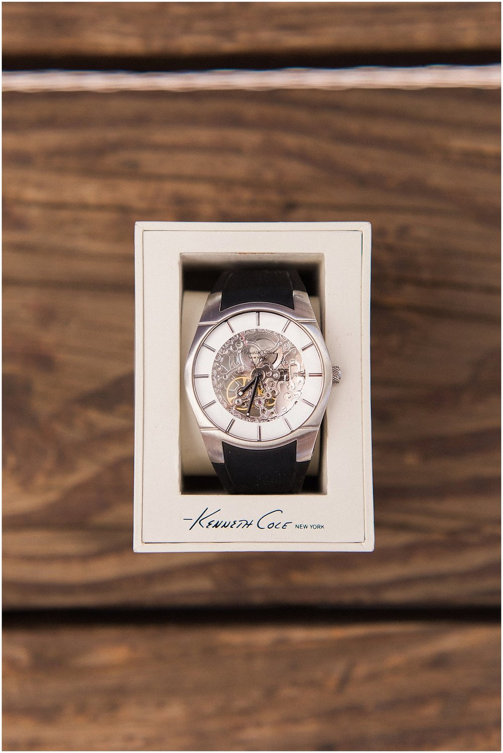 Kenneth Cole Groom's Watch | featured on Style Me Pretty | Arizona Wedding Planner | Megan Dileen Events
