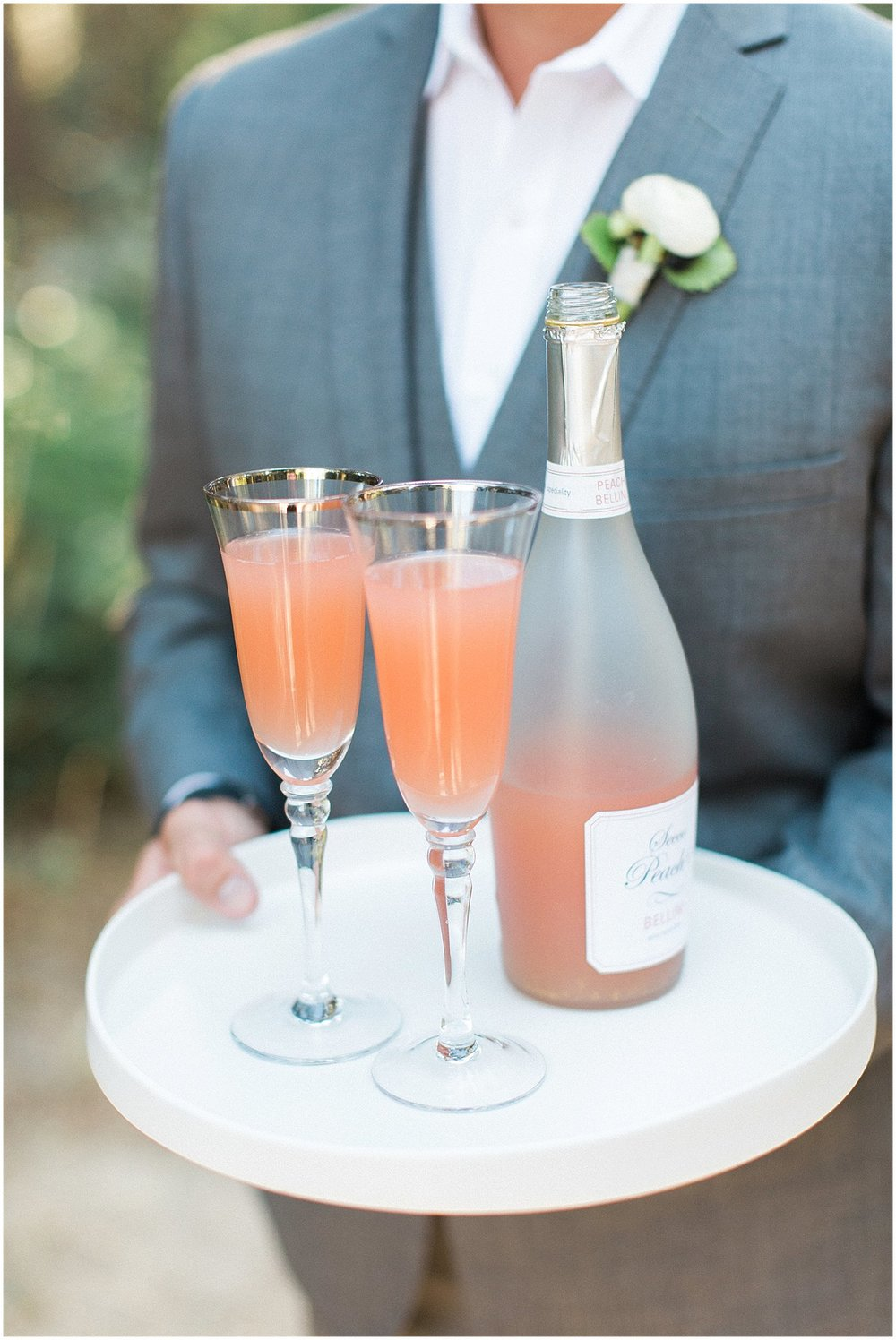 Bellini Signature Cocktail featured on Style Me Pretty | Phoenix Wedding Planner | Megan Dileen Events