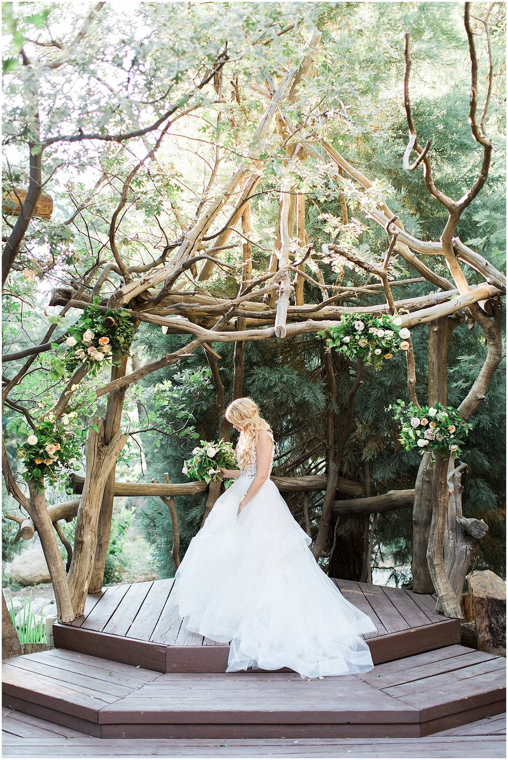 Hayley Paige Halo Wedding Dress at Arrowhead Pine Rose | featured on Style Me Pretty | Arizona Wedding Planner | Megan Dileen Events