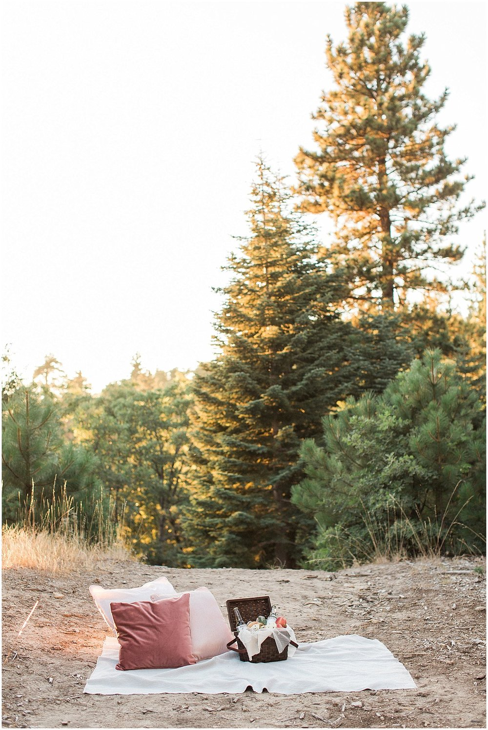 Sunset Picnic with Custom Gift Basket by Gaspara Flora featured on Style Me Pretty | Scottsdale Wedding Planner | Megan Dileen Events
