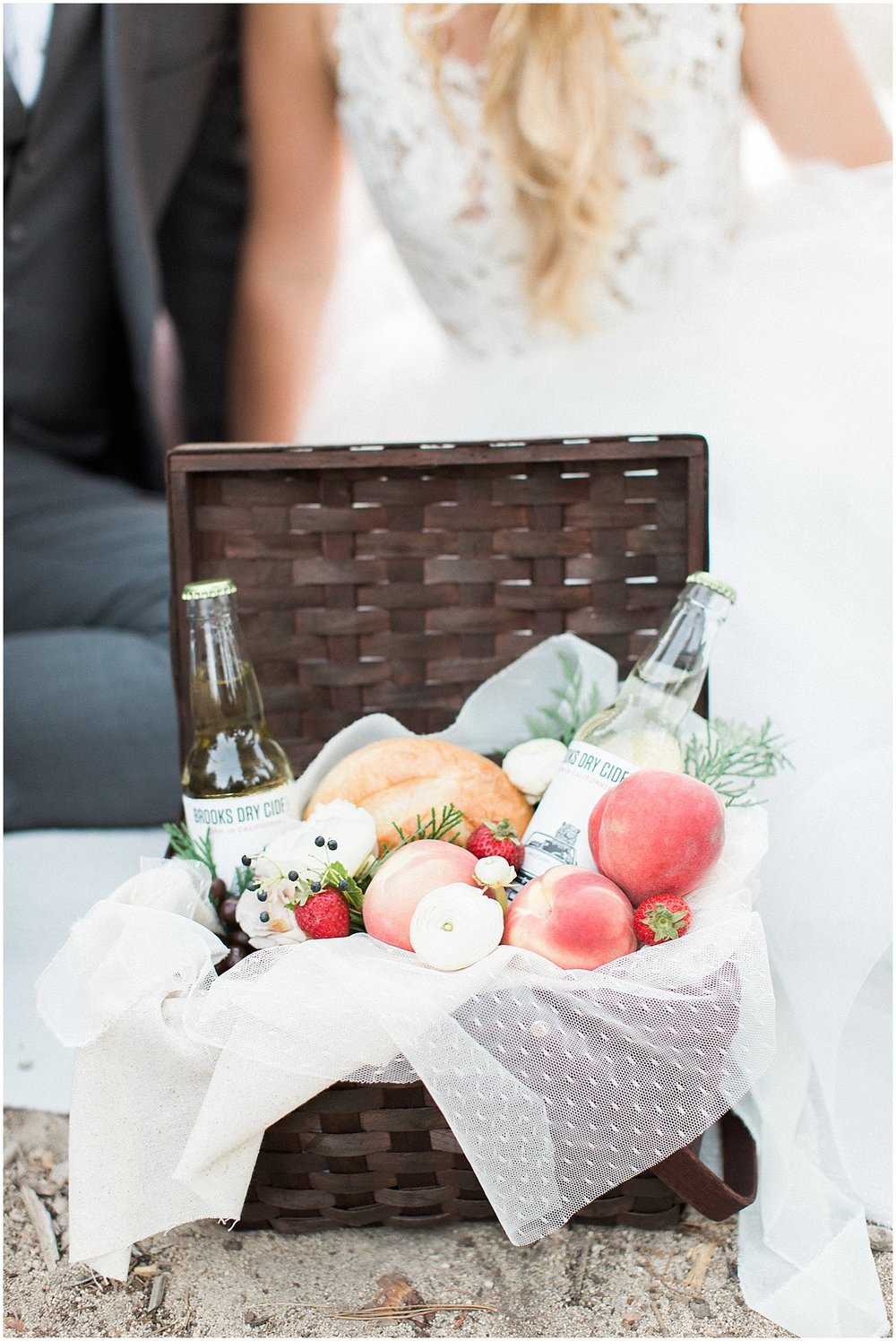 Custom Picnic Basket by Gaspara Flora featured on Style Me Pretty | Scottsdale Wedding Planner | Megan Dileen Events