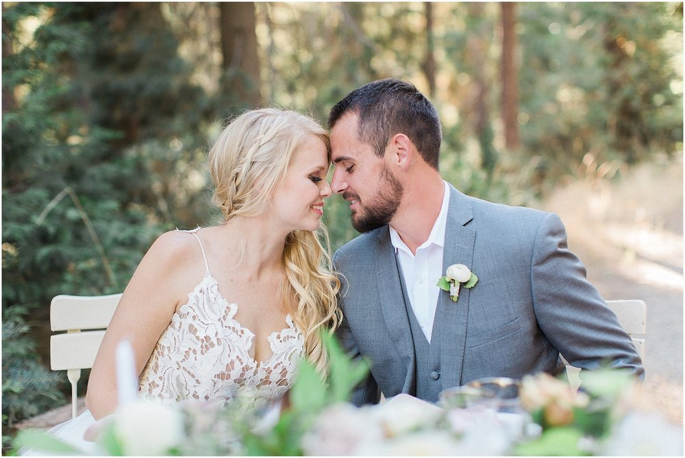 Romantic Sweetheart Table featured on Style Me Pretty | Phoenix Wedding Planner | Megan Dileen Events