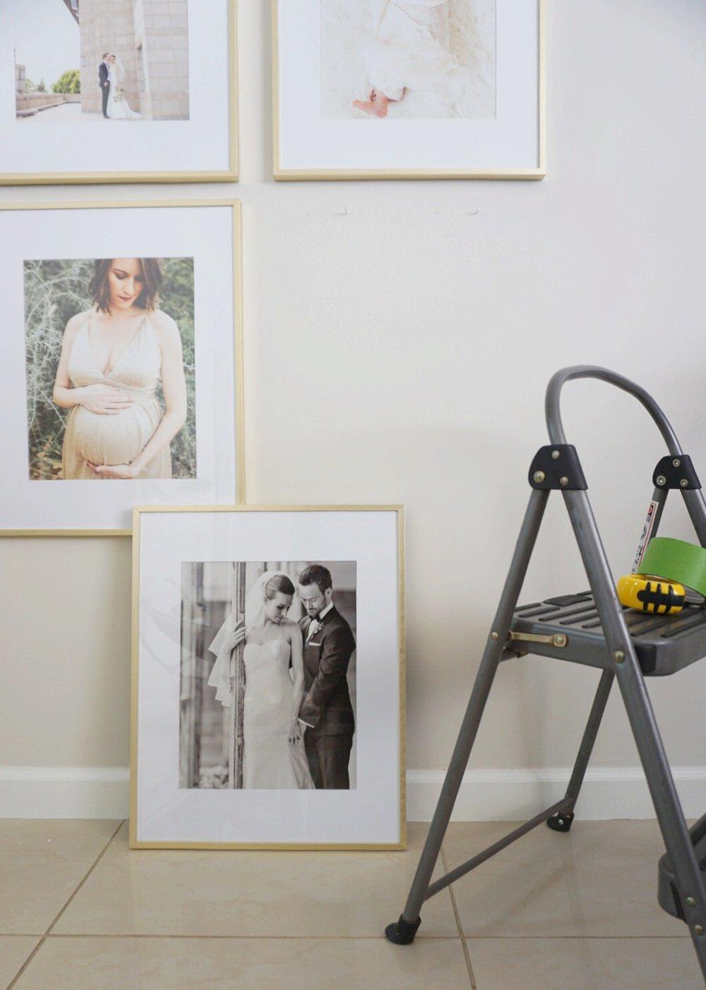 DIY Modern Legacy Gallery Wall