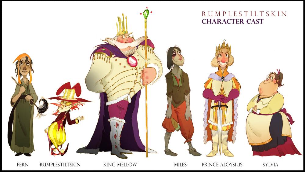 Rumpelstiltskin Cast.jpg