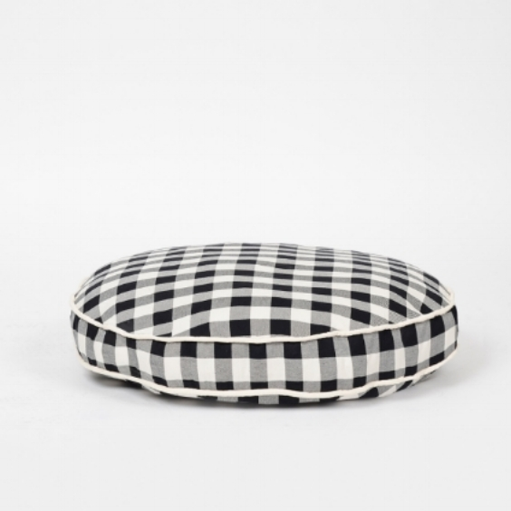 Buffalo Plaid Circle Bed