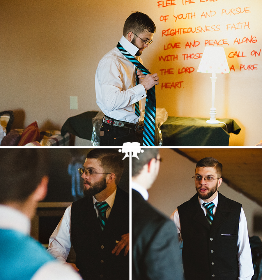 groom getting ready pt 2