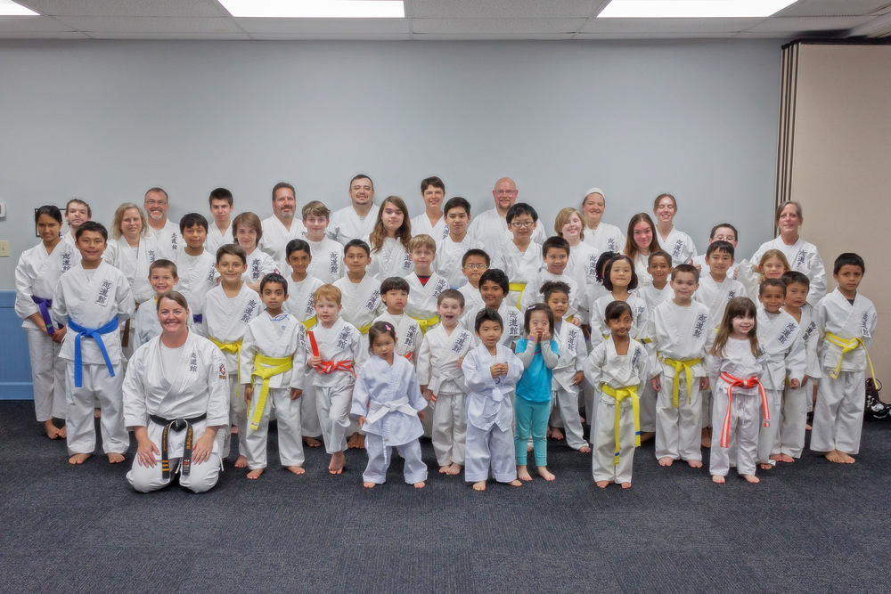 In April we had a group photo taken for Iha Sensei's 40th anniversary celebration book.  What a great group we have! Hopefully next time everyone will be available for the photo.