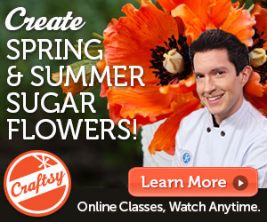 Click above for my Spring & Summer Sugar Flowers class!