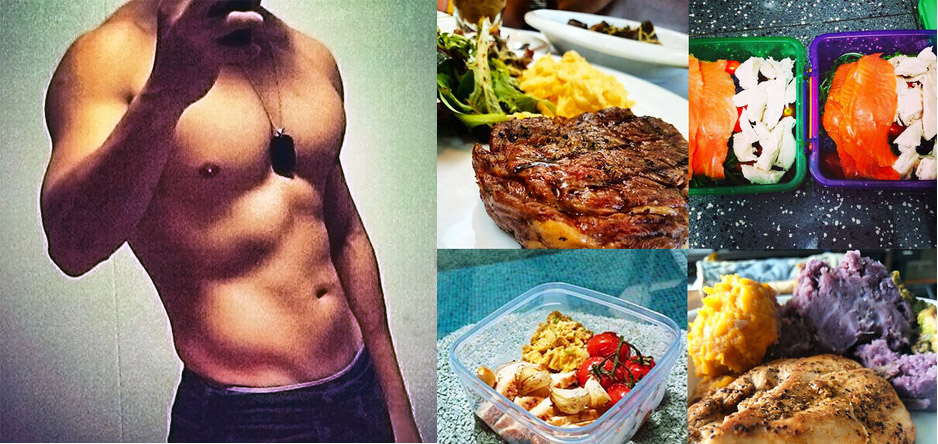 Train smart, eat well and look great.