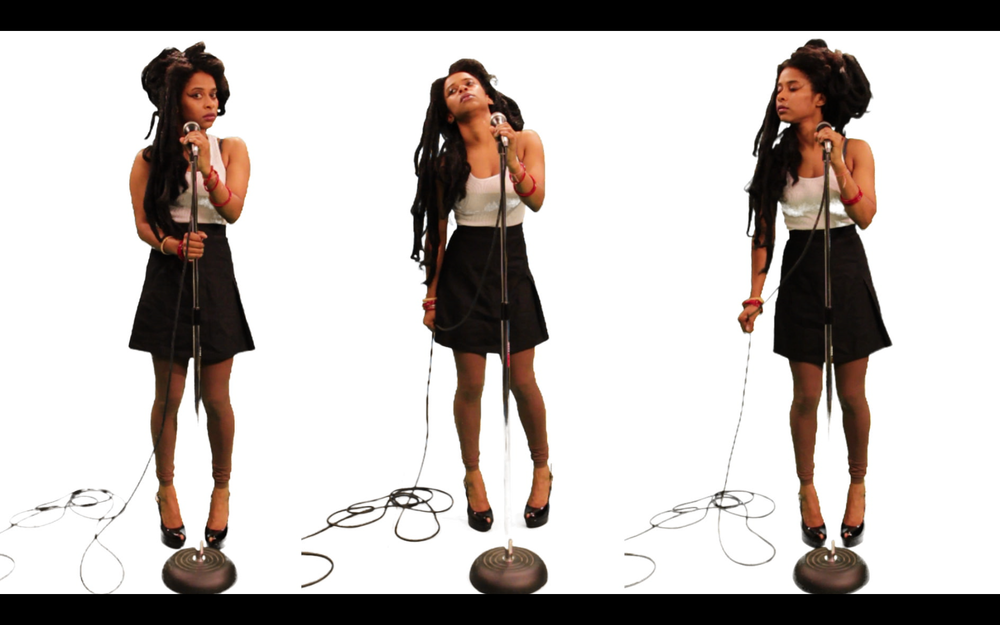 Tameka Norris   Back to Black , 2011 single-channel video with sound 4 min. 10 sec.