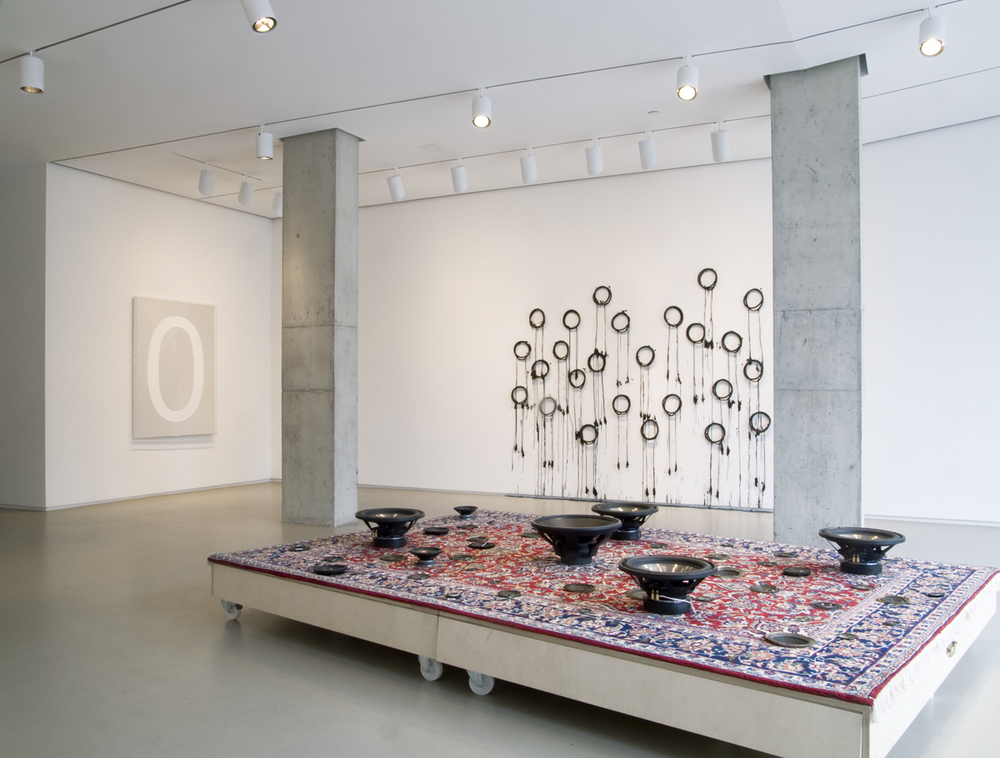 Mounir Fatmi   Oriental Accident , 2012 installation view at Lombard Freid Gallery, NY