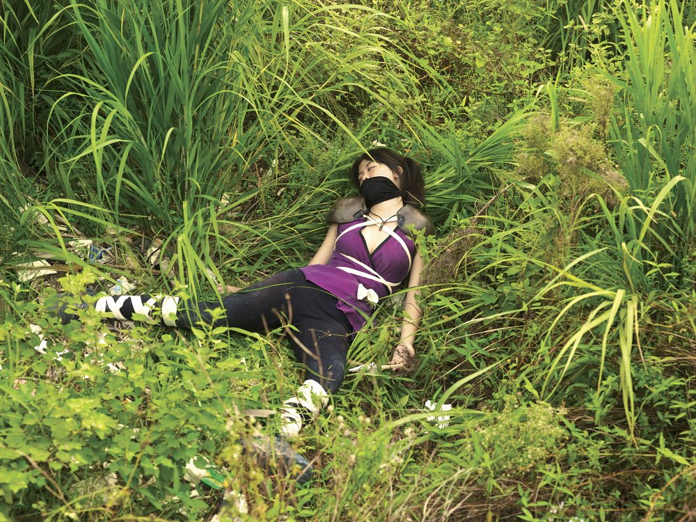 Cao Fei   Game Over (COSPlayers Series) , 2004 digital c-print mounted 29 1/4 x 39 1/4 inches 74.3 x 99.7 cm