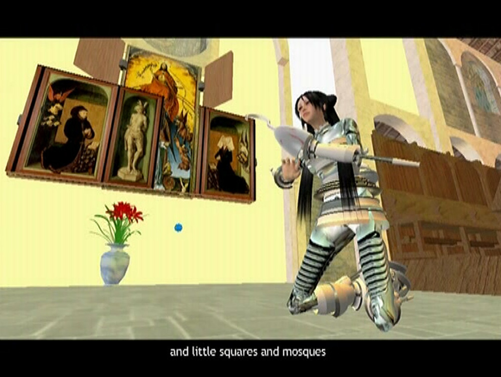 Cao Fei   i.Mirror by China Tracy (AKA: Cao Fei), A Second Life Documentary Film  (video still), 2007 single channel color video, with sound duration 28 minutes