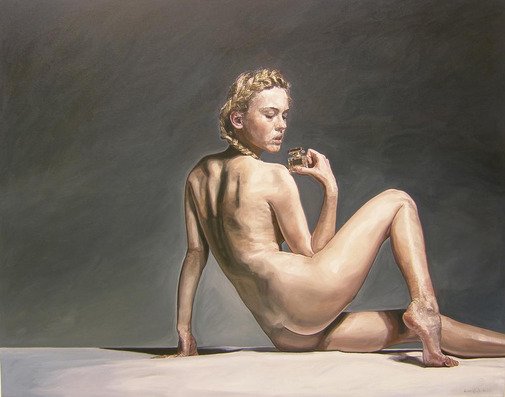 Ulrich Lamsfuss   Wayne Plant- Jasmin 2 (170/6) , 2005 Oil on canvas 51.18 x 64.96 inches 130 x 165 cm