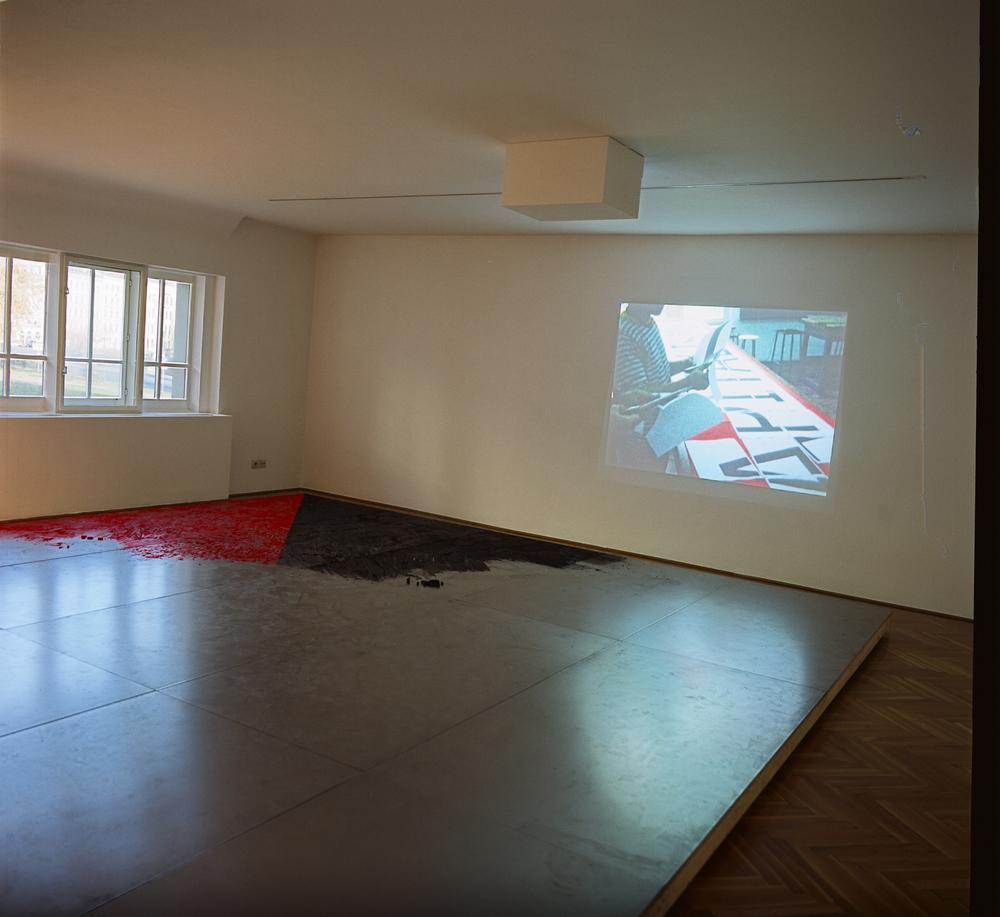 Mona Vatamanu & Florin Tudor   Secession, Installation , 2009 raphisches Kabinett, Vienna, Austria