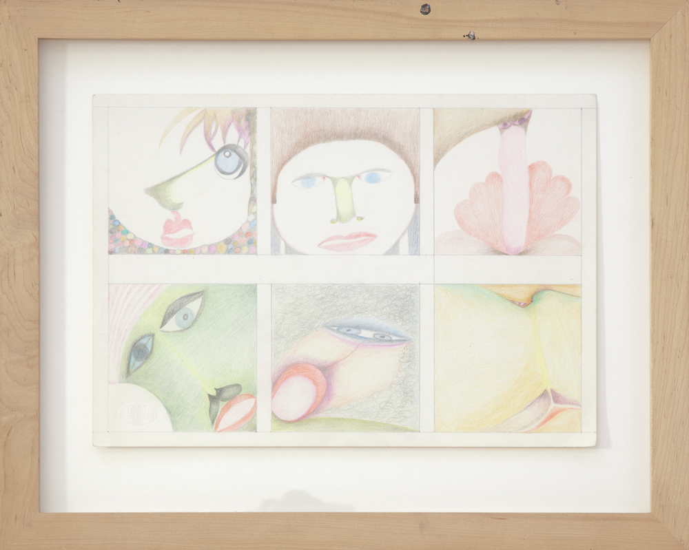 346_Painted_color pencil on paper_15 x 18.5%22_1978_AB.jpg