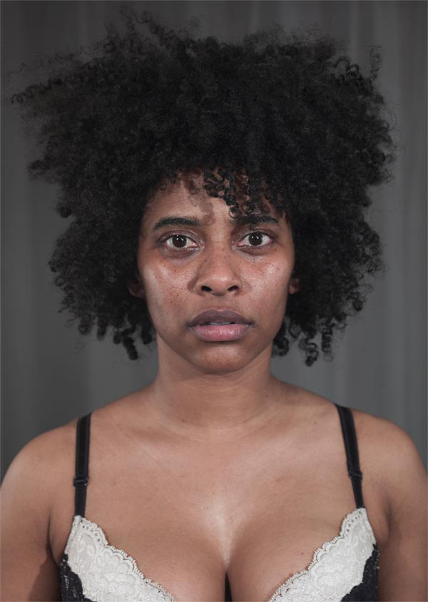 Tameka Norris   Untitled (self portrait) , 2012 back-lit film print on light box 34.5 x 48.5 inches 87.6 x 123.2 cm
