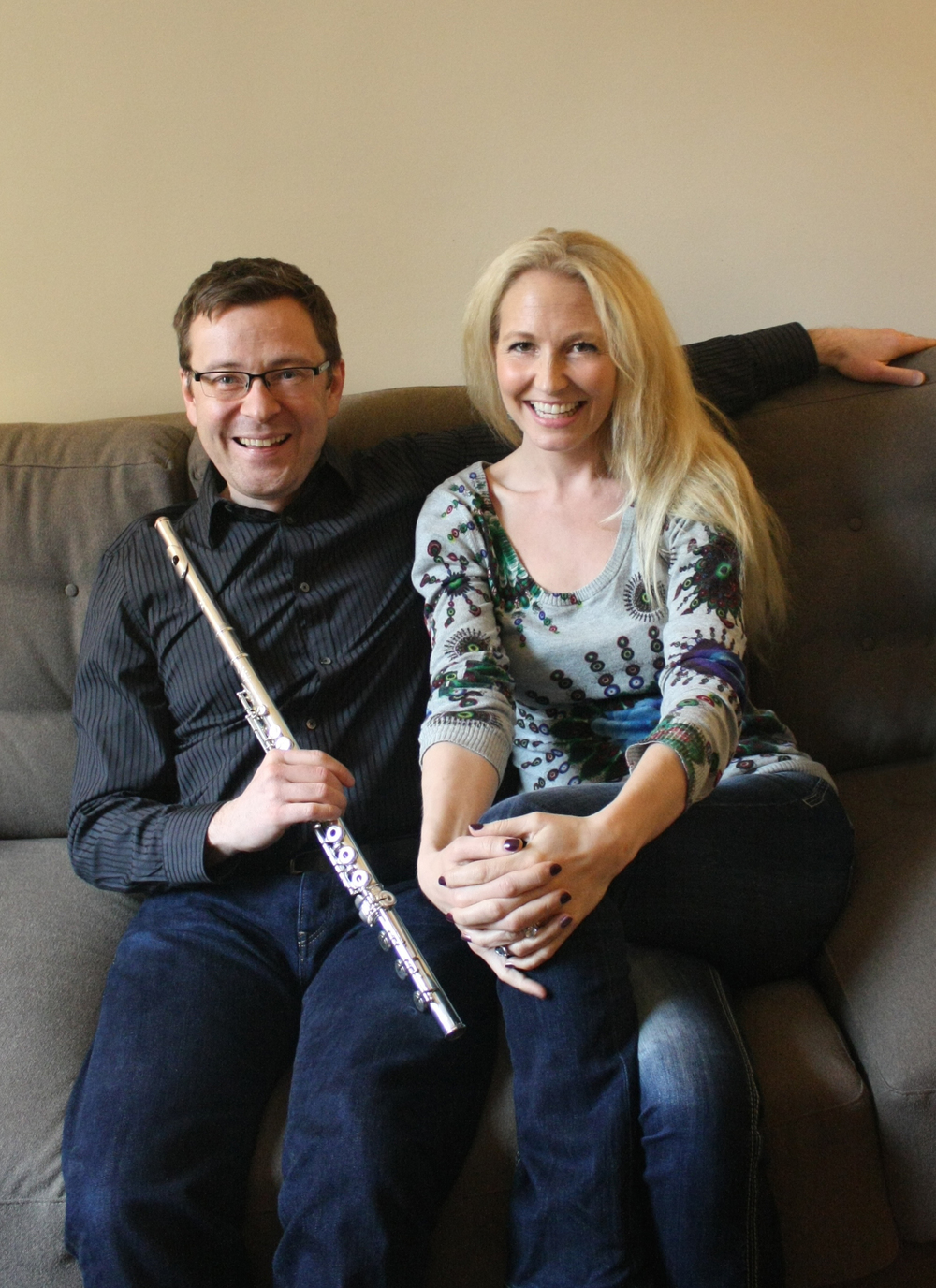 Stefán Höskuldsson and Dísella Làrusdóttir (Photo by Stephanie Mortimore)