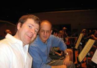 Stefán with Michael Parloff