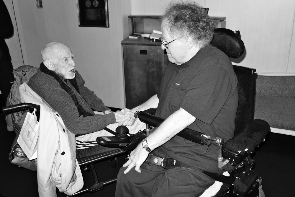 Maestro James Levine catches up with Elster after 28 years.