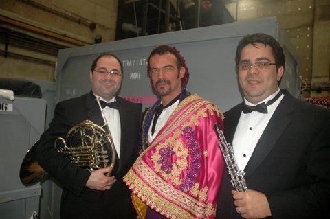 L-R: Javier Gandara, José Bercero, and PedroDíaz