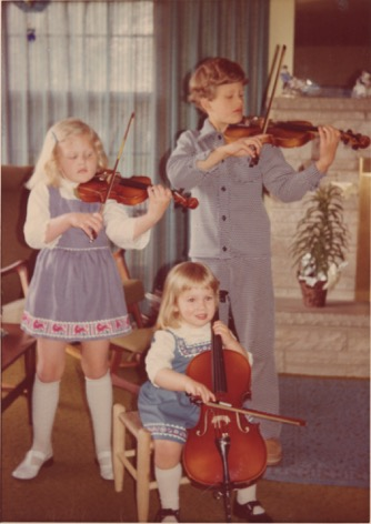 The Docter children (mid-1970s)
