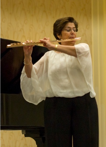 At the 2013 National Flute Convention