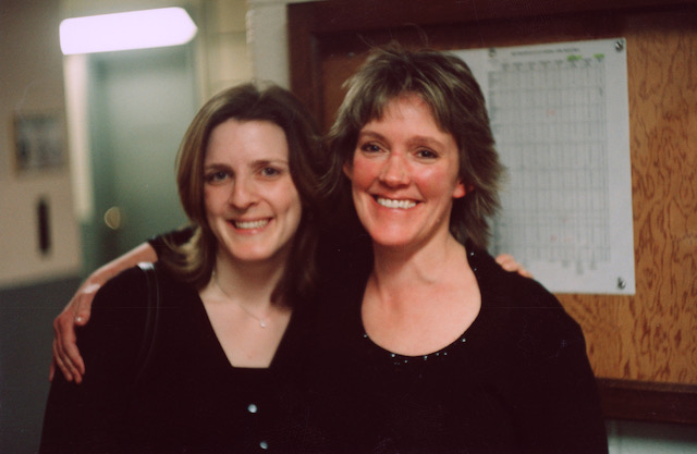 (L-R) Barbara Jöstlein Currie (Fourth Horn since 1997), Michelle Reed Baker (Second Horn since 1990) (Photo by Michael Ouzounian)