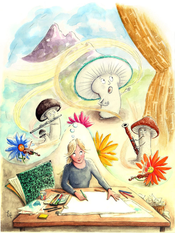Illustration by Emmanuelle Ayrton