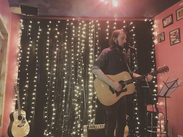Thanks to everyone that came out last night to @cafe_racer_seattle to hear me, the melancholy beauty of @capedisappointmentmusic and the luminous harmonies of @sandifernandezmusic . And thanks to @skylerwrites from PDX for joining me for a couple songs - love ya brother! You know it's a good night when you have a great time and only later realize you had kinda been playing into the corner. Ha! Great to see lotsa longtime friends and fans as well as some new. Keep the music and the dance flowing fam, and even tough times will be eased. ✌️+❤️ / 📸 by @adventures_of_jo // #seattlemusic #livemusic #northwestmusicscene