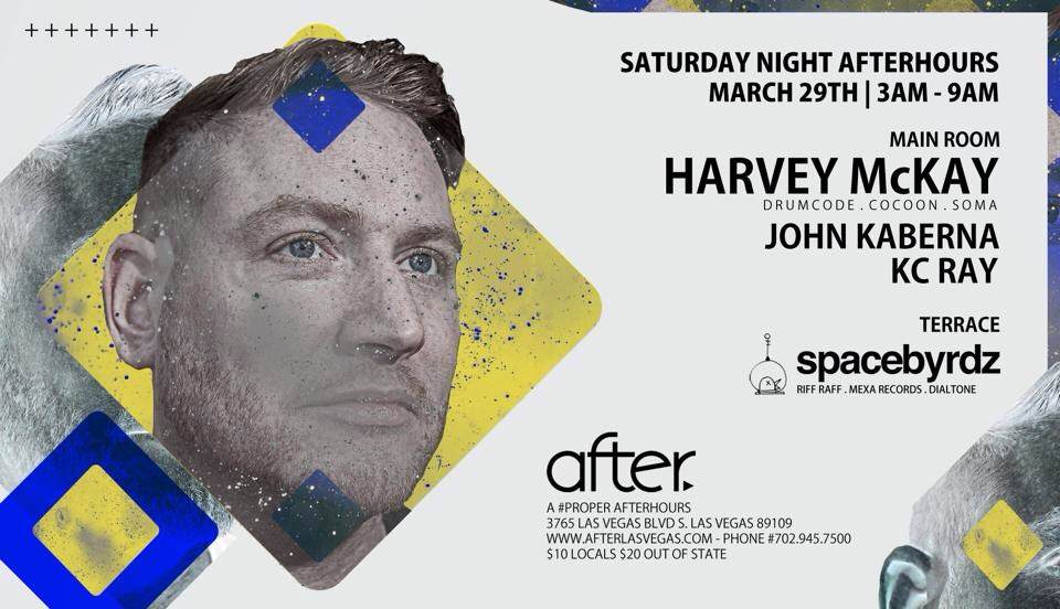 Harvey McKay - Saturday March 29th