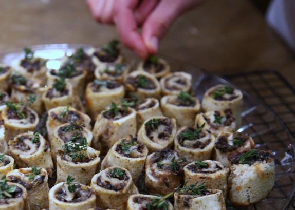 mushroom rolls