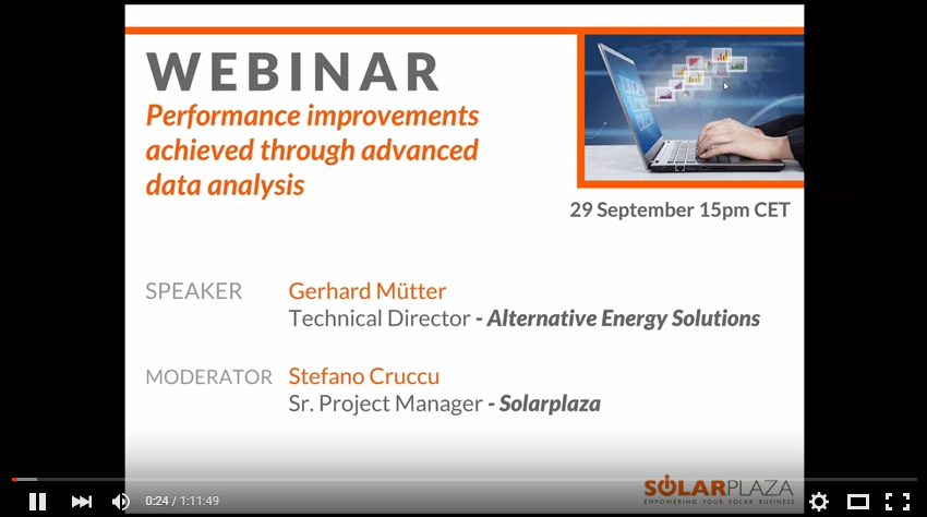 Click here to see the video recordings of the webinar