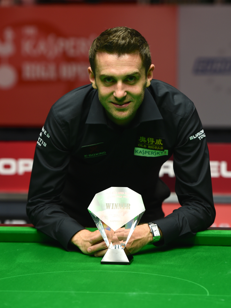 Another trophy for world champion Mark Selby