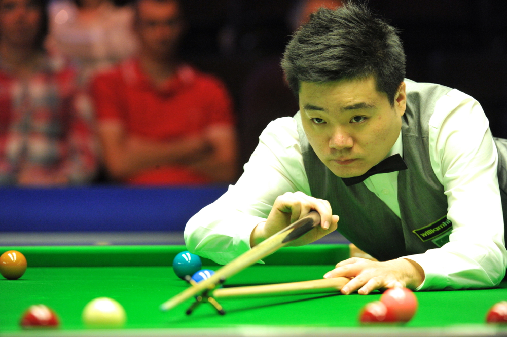 Ding Junhui: hoping to come good again
