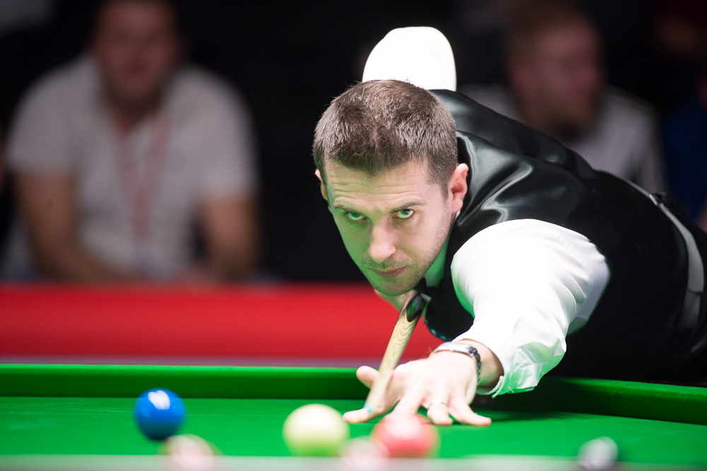 Mark Selby: new father