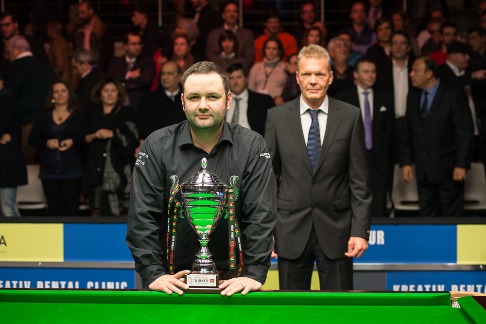Stephen Maguire: Lisbon Open champion