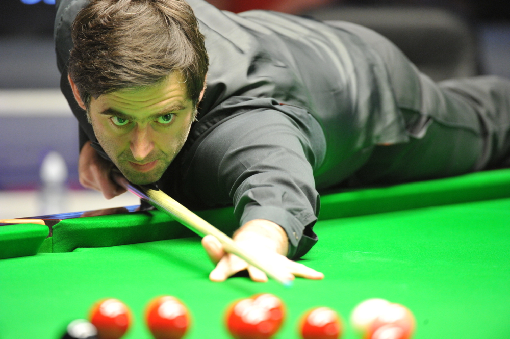 Ronnie O'Sullivan: broke the record for maximums with the shot of the year